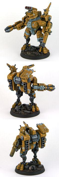 Tau Crisis Battlesuit Commander