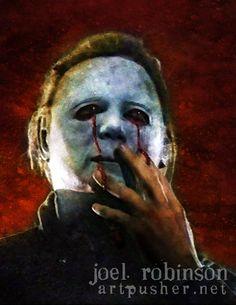 Dick Warlock is Michael Myers in Halloween 2