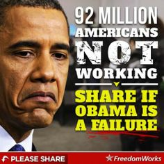 1/11/14.  There are only like what maybe 350 Million Legal Citizens in the USA and many of those are still children.  So 92 Million Not Working is a HUGE slice of the population, not a sliver and many of those that are working are not getting full time hours.