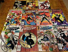 Amazing Spiderman Black Suit Key lot