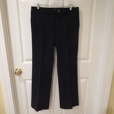 MAKE A REASONABLE OFFER ON ANYTHING IN MY STORE AND ITS YOURS TODAY!!  Ann Taylor Black Corduroy Pants Size 8  Career/Casual #AnnTaylor #CasualCareer