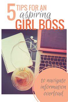 Burpees for Breakfast | 5 TIPS FOR AN ASPIRING GIRL BOSS | http://www.burpeesforbreakfast.com