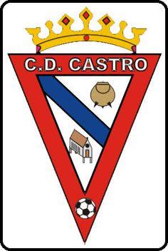 CD Castro (Castro de Rei, Galicia, España) #CDCastro #CastrodeRei #Galicia (L18796) Soccer, Photoshop, Football, Sport, Cards, Football Team, Poland, Flags, Sports