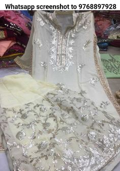 Pure Georget shirt with original gota work😍 Pure Georgette stiched Sharara with original gota work 😍 Pure chiffon Dupata with original gota work😍 bright and pastel colours Pakistani Party Wear, Pakistani Dresses, Indian Dresses, Indian Outfits, Sharara Designs, Kurti Designs Party Wear, Stylish Dresses, Simple Dresses, Dresses For Work