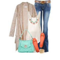 Summer/Fall outfit from Stylish Guru on FB