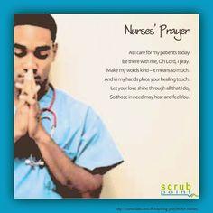 Nurses' Prayer