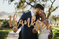 I'm offering a discount! Thank You Sign, Wedding Thank You Sign, Thank You Sign Wedding Photo Props for DIY Thank You Cards, Bride & Groom Photography Decor Wedding Photo Props, Wedding Poses, Wedding Ideas, Wedding Crafts, Wedding Decorations, Wedding Inspiration, Thank You Sign, Thank You Cards, Thank You Photos