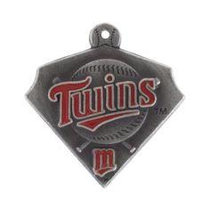 Minnesota Twins Pewter Charm