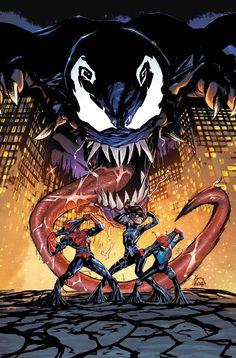 #Spider-Man #Fan #Art. (Amazing Spider-Man: Renew Your Vows Vol.2#9 Cover) By: Ryan Stegman. ÅWESOMENESS!!!™ ÅÅÅ+