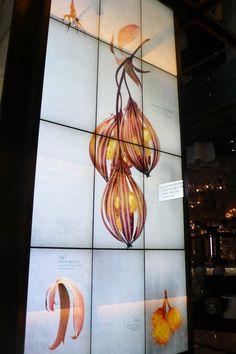 avidia's lantern, digital installation at the cosmopolitan, las vegas.