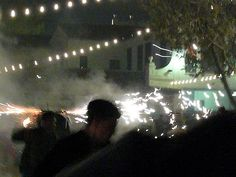 Toros de Fuego en la Feria