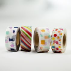 Abstract lines and colors in mini form.15mmx7mMade in Japan