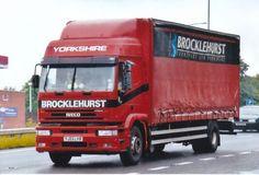 COL PHOTO BROCKLEHURST TRANSPORT IVECO 4 WHEEL CURTAINSIDER - YJ03 LVB #Notapplicable
