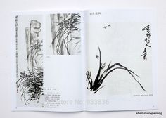 """Chinese Painting Book """"Learn to Paint Orchid from Master Wu Changshuo Qi Baishi"""" Painted Books, Chinese Painting, Learn To Paint, Orchids, Learning, Ebay, Learn How To Paint, Lilies, Teaching"""