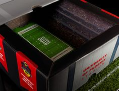 Fiesta Bowl Stadium Box on Packaging of the World - Creative Package Design Gallery