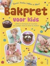 Bakpret voor kids  Lekkere koekjes en taartjes om samen met je kind te maken Handjes gewassen? Schortjes aan? De bakpret begint!  http://www.bruna.nl/boeken/bakpret-voor-kids-9789044738926