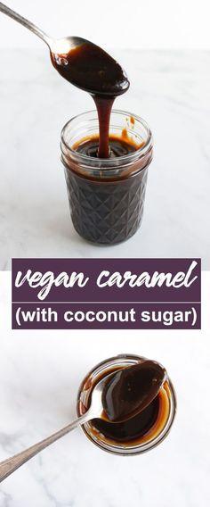 Easy Vegan Caramel (