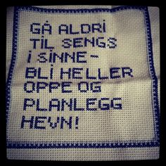 Bilderesultater for korssting humor Future Tattoos, Teaching Art, Homemade Gifts, Funny Images, Cool Words, Embroidery Stitches, Fabric Crafts, Cross Stitch Patterns, Needlework