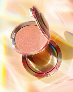 Shop BECCA's Shimmering Skin Perfector™ Pressed Highlighter - Own Your Light at Sephora. This highlighter supports BECCA's mental wellness initiative. Becca Highlighter, Becca Shimmering, Makeup News, Becca Cosmetics, And July, July 31, Make Up Collection, Pink Tone, Natural Glow