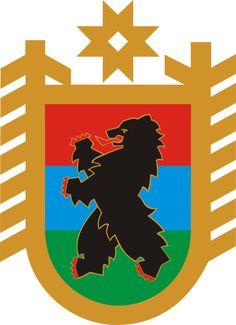 Coat of Arms of Republic of Karelia. Finnland