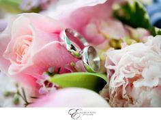 Elizabeth Nord Photography, Destination wedding in Cedar Key, FL, bride and groom, wedding dress detail shots, bed and breakfast, rings, flower bouquet
