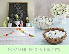 13 Of The Best Easter Decoration DIYs