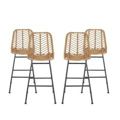 Wicker Bar Stools, Outdoor Bar Stools, Patio Dining Chairs, Bar Chairs, Dining Room, Woven Bar Stools, Outdoor Bars, Rattan Chairs, Lounge Chairs