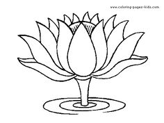 The 36 best Flower Coloring Sheets images on Pinterest | Colouring ...