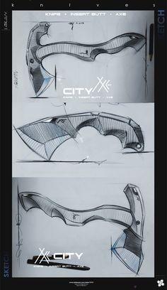 KNIVES-AXE Knife Drawing, Knife Template, Hulk Art, Diy Knife, Beil, Knife Patterns, Battle Axe, Dagger Tattoo, Weapon Concept Art