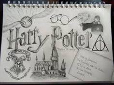 Billedresultat for harry potter drawings easy