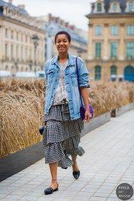 STYLE DU MONDE / Haute Couture Fall 2016 Street Style: Tamu McPherson  // #Fashion, #FashionBlog, #FashionBlogger, #Ootd, #OutfitOfTheDay, #StreetStyle, #Style