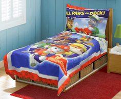 Paw Patrol Toddler Bed Set, Blue