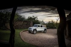 One of only 99 built, Offered from the Mercedes-Benz Factory,2017 Mercedes-Benz Maybach G650 V12 Biturbo Landaulet
