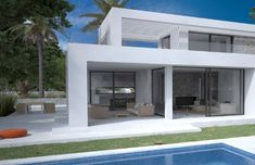 Seasites House II -   seasites - timeless architecture with mediterranean soul   3 bedrooms and 3 bathrooms constructed ground floor area: 158m²  constructed first floor area: 45m²  constructed area covered terraces: 40m²  total constructed area: 243m²  + constructed area roof terraces: 72m² constructed area terraces: 20m²