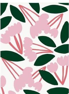Wallpaper Floral Pattern Tropical Prints Ideas For 2019 Design Textile, Design Floral, Motif Floral, Textile Patterns, Flower Patterns, Print Patterns, Flower Pattern Drawing, Flower Pattern Design, Textiles