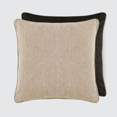 The Citizenry   Conway Pillow - Sand Linen – The Citizenry