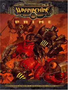 """Had a wonderful time writing the fictiony bits in Warmachine: Prime. I've never been a """"crunchy"""" guy a.k.a. writing rules and mechanics. The """"fluff"""" has always been my forte."""