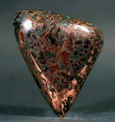 Native Spider Web Copper with Malachite by LostSierra on flickr Geology Wonders