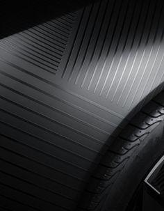 lines, sheen difference. Black on Black 3d Texture, Texture Design, Surface Pattern, Surface Design, Le Manoosh, Bd Art, 3d Camera, Motifs Textiles, 3d Prints