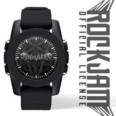 Official : ROCKJAM (Merch 2016) Wristwatch : Jihad Death Metal Skull Logo Price : Rp. 105.000,- (Exclude Shipping) Order : 081210280666 Instagram : https://www.instagram.com/jihadeathmetal/
