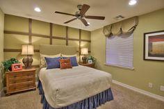 Model Home Perfect Bedroom. #goodstaging