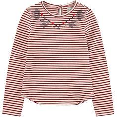 Tee-shirt rayé en jersey - 129662