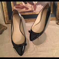 Kate Spade Black Flat Shoes! Check out these great Kate Spade Black flats.  Great condition.  Gently worn kate spade Shoes Flats & Loafers