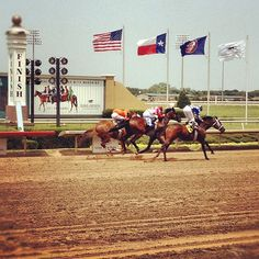 Good times today with my kids at Lone Star Park. Twitter / Recent images by @JamesWelshUSA