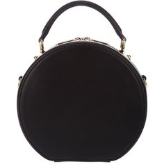 DOLCE & GABBANA round tote bag ($1,495) ❤ liked on Polyvore featuring bags, handbags, tote bags, purses, accessories, black, black tote, dolce gabbana tote, black tote bag and zipper purse