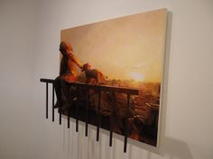 Shintaro Ohata: Sculptures popping out of paintings