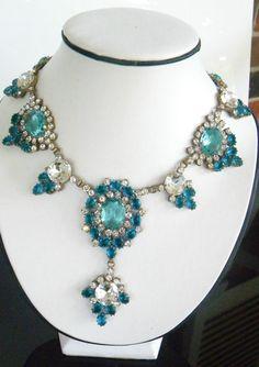 I love vintage costume jewelry!