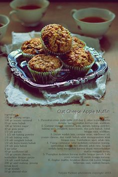 Oat Cheese Apple Muffin