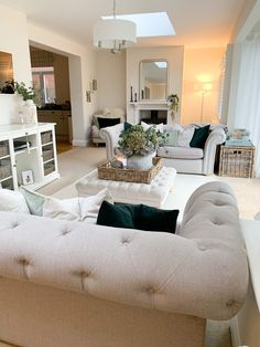 it instantly feels so bare… Living Room Decor Cozy, Living Room Goals, Elegant Living Room, Living Room Grey, Home Living Room, Room Interior, Interior Design Living Room, Living Room Designs, Room Ideas Bedroom