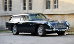 The first DB5 Shooting Break was authorized by and built for Aston Martin president David Brown to transport his dogs and guns on hunting excursions. A handful of wealthy Aston clients expressed their interest in also having DB5 Shooting Brakes built for themselves, Brown entrusted the manufacture of twelve additional Shooting Brakes be built by Radford. Aston Martin continues the tradition of manufacturing a very limited edition Shooting Brake with each new generation.